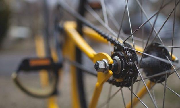 The Bike Man by Helen Laser