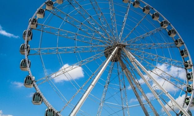 Ferris Wheel by Janet Butler